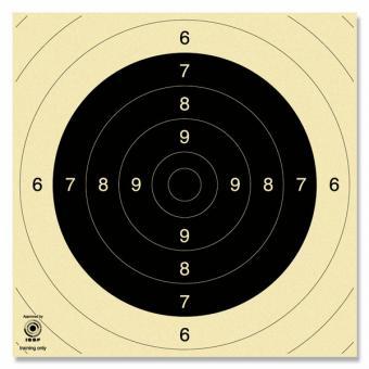 Krüger Scheibe Mod. Pistole 25/50