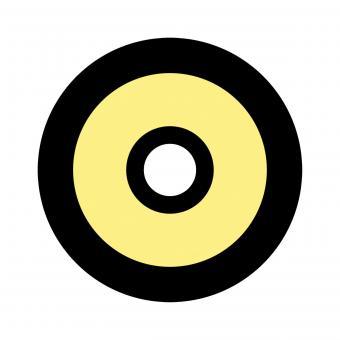 Centra Ringkorn Mod. Filter-Glasringkorn M22 gelb