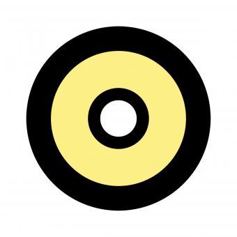 Centra Ringkorn Mod. Filter-Glasringkorn M18 gelb