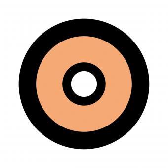 Centra Ringkorn Mod. Filter-Glasringkorn M22 rot
