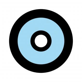 Centra Ringkorn Mod. Filter-Glasringkorn M18 blau