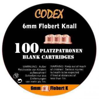 CODEX Platzpatronen 6 mm PA Flobert Knall