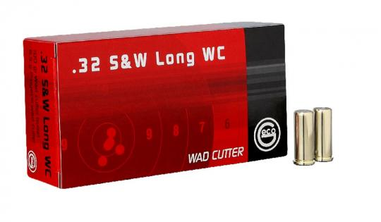 GECO .32 S&W long WC Wad Cutter 100 gr