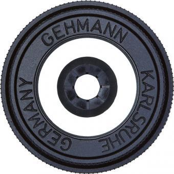 Gehmann Kompakt Iris-Ringkorn in Glas. freistehend