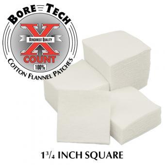 """Bore Tech Baumwollpatch 1 3/4"""" für .243 - .308"""