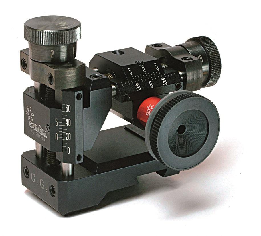se shootingequipment centra rear sight mod sight base lr